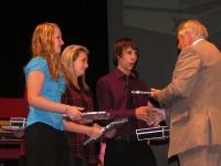 předávání diplomu
